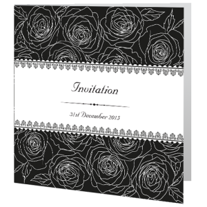 wedding-day-invite-classic-flower-black-and-white