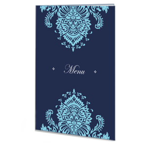 blue-pink-regal-menu-folded-card