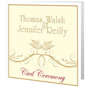 civil-ceremony-invite-celtic-swan-swirl