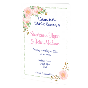 ceremony booklets wedding cards direct