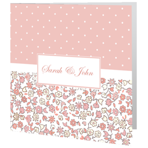 wedding-day-invite-dots-and-flowers