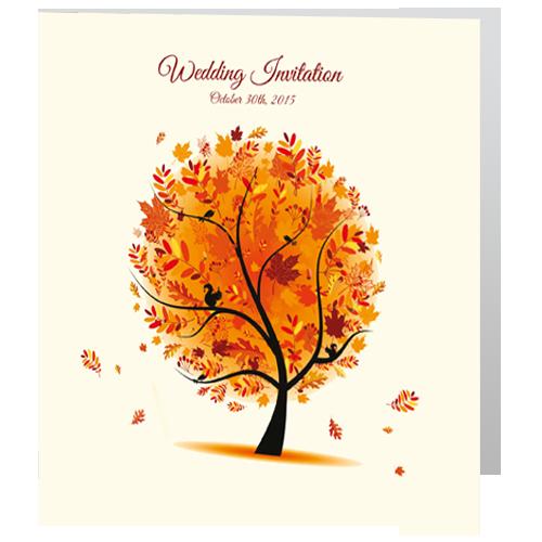Autumn tree 3d