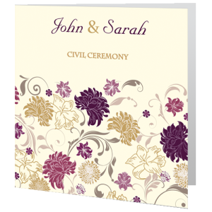 civil-ceremony-invite-cream-purple-flower