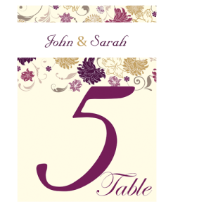 cream-purple-flower-table-number-card