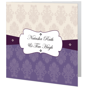 wedding-day-invite-regal-purple-and-cream-band