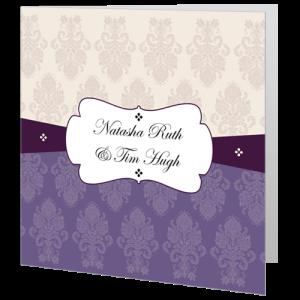 wedding-day-invite-regal-purple-and-cream-band