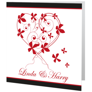 wedding-day-invite-red-heart-flowers