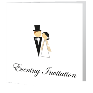 wedding-evening-invite-monochrome
