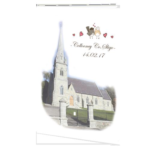 Love Birds  Ceremony booklet 148.5 x 210 Folded