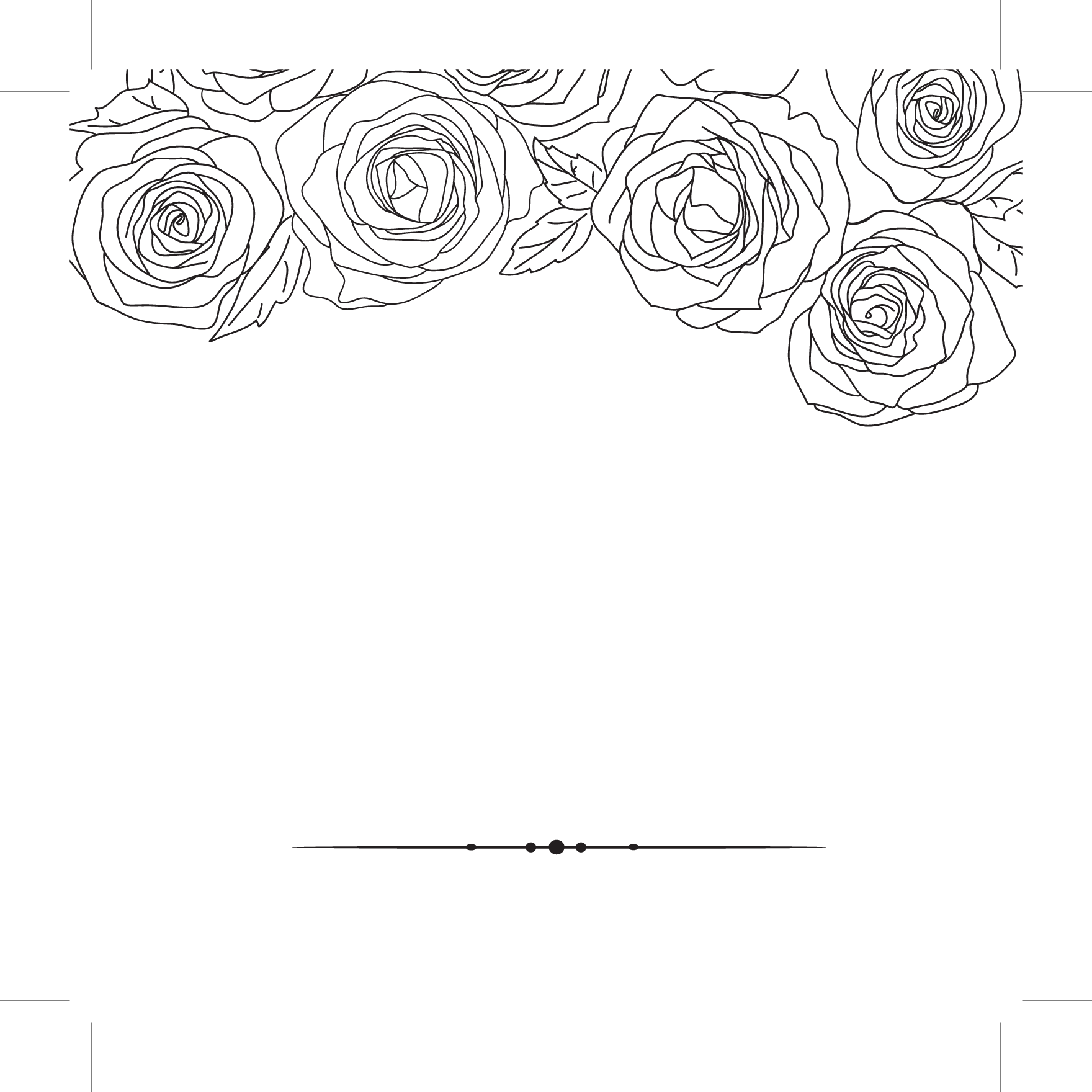 Wedding Invitations Galway: Classic Flower Black & White Save The Date 124mm X 124mm