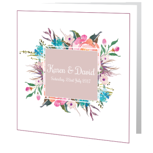 wedding-day-invite-pink-flower-frame