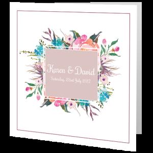 wedding-day-invite-pink-flower-frame