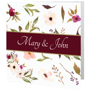 wedding-day-invite-purple-flower-140mm-x-140mm