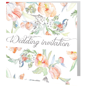 wedding-day-invite-script-flowers-140mm-x-140mm