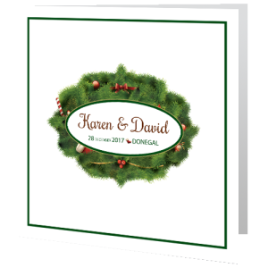 wedding-day-invite-Xmas-Wreath