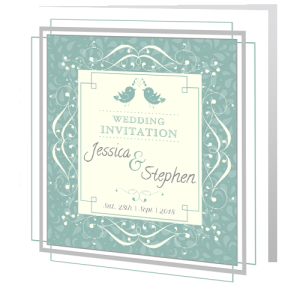 wedding-day-invite-teal-floral
