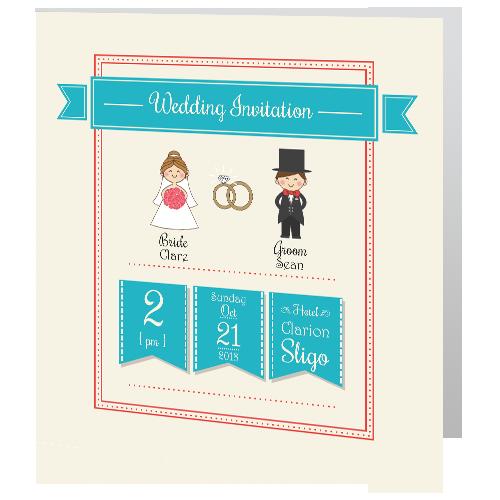 cute-turquoise-wedding-invitation