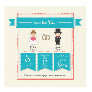 turquoise-cute-couple-save-the-date-124mm-x-124mm