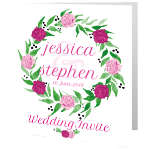 wedding-day-invite-watercolour-foral-wreath-140mm-x-140mm