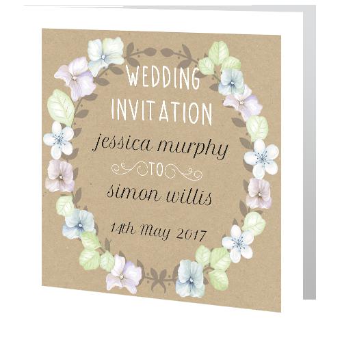 wedding-floral-wreath-on-rustic-3d