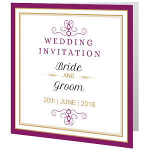 wedding-day-invite-purple-gold-140mm-x-140mm