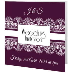 wedding-day-invite-lace-on-burgundy-wine