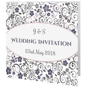 wedding-day-invite-ornate-mauve-grey-floral-140mm-x-140mm