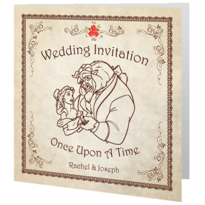 wedding-day-invite-beauty-and-the-beast-fairytale-140mm-x-140mm
