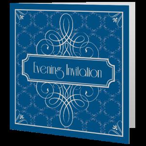 wedding-evening-invite-dark-blue-art-deco-140mm-x-140mm