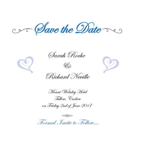 Eat drink and be married Save the Date 124 x 124 Flat