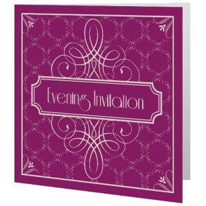 wedding-evening-invite-purple-art-deco-140mm-x-140mm