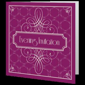 wedding-evening-invite-purple-art-deco-140mm-x-140mm