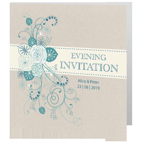 Wedding-Evening-Invite—Teal-Flower-140mm-x-140mm