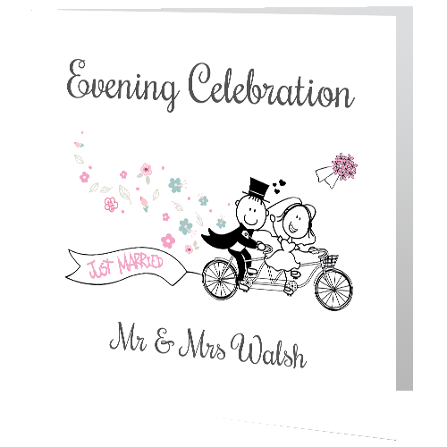 Wedding Invites - Evening