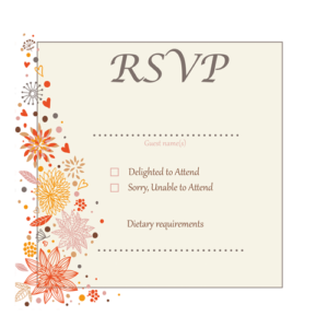 autumn-leaf-white-border-rsvp-124mm-x-124mm