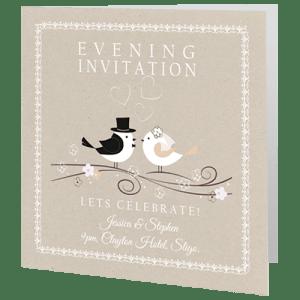 Wedding Invites - Evening