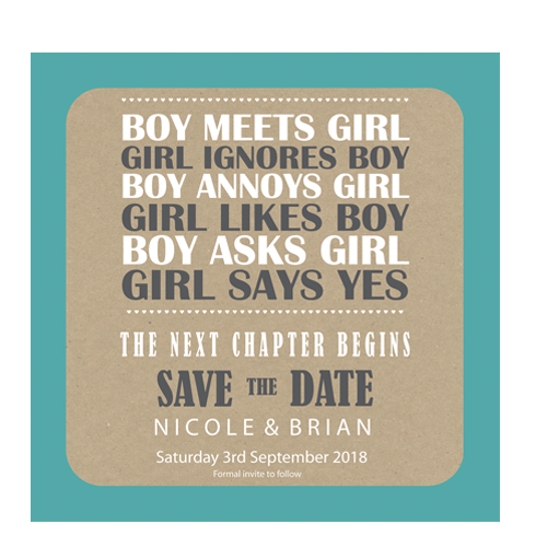 Next Chapter Save the Date 124 x 124 Flat