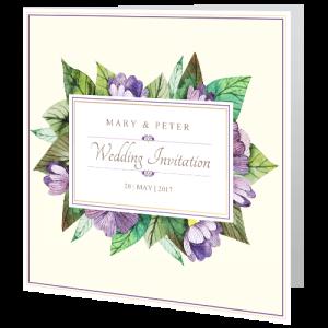 wedding-day-invite-purple-leaf-flowers-140mm-x-140mm