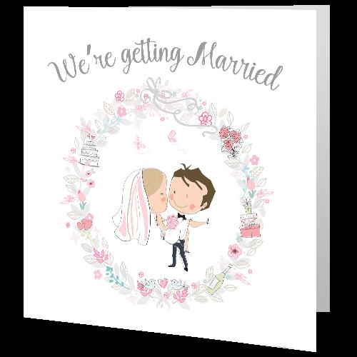 Wedding-Day-Invite—Floral-Wreath-140mm-x-140mm