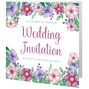 wedding-day-invite-soft-pink-lilac-floral-140mm-x-140mm