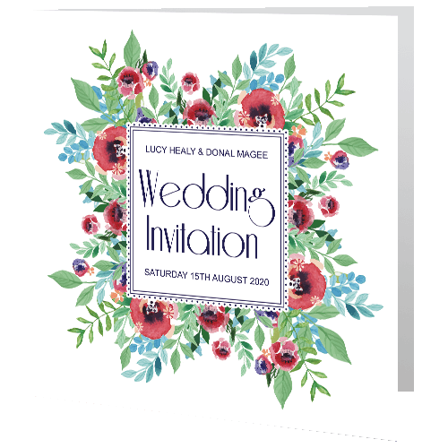Wedding-Day-Invite—Watercolour-Floral-140mm-x-140mm