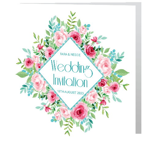 Wedding-Day-Invite—Watercolour-Roses-140mm-x-140mm