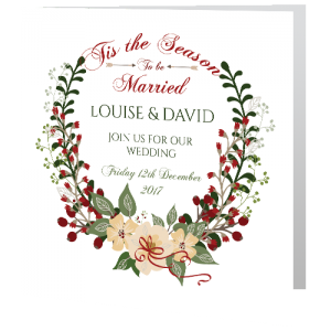 wedding-day-invite-xmas-floral-wreath