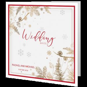wedding-day-invite-winter-wedding-cones-140mm-x-140mm-copy