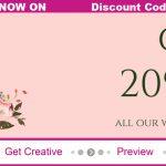 20% OFF All Wedding Stationery